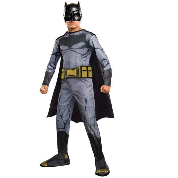 Boys Batman Dawn of Justice Costume L 10/12 NWT